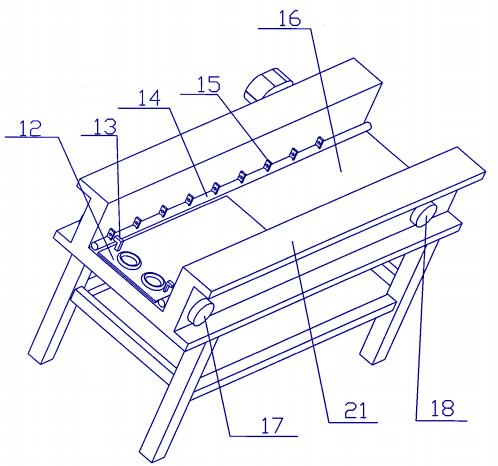 Figure 2 schematic diagram of conveyor
